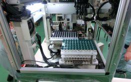 分注混和装置による結核菌の分注・混和工程の自動化