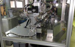 自動部品供給装置によるラインの無人化